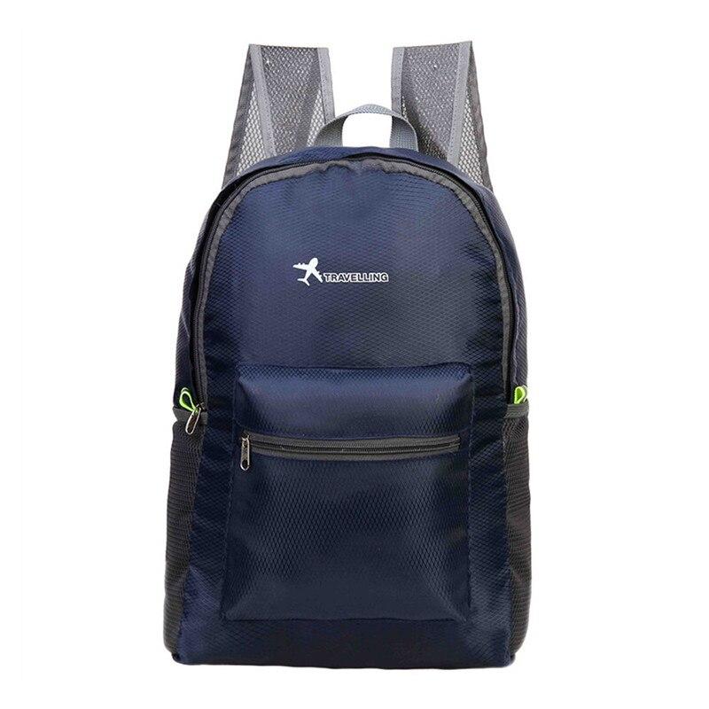 Travel Bag Backpack Outdoor Travel Folding Shoulder Bag Diamond Rucksack Sports Backpack Safety & Survival Z0824
