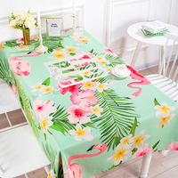 Green Floral Table Cloth Cotton linen Tablecloths Table Cover Rectangle Tablecloth Small Fresh Table Cloth Home Decor