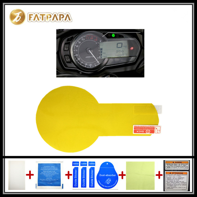 motorcycle Meter Km Table Display screen Blu-Ray Protective film Suitable FOR KAWASAKI Z1000SX