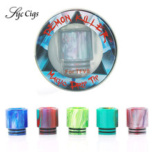 5pcs/lot Original Demon Killer E-cigarettes Drip Tip Compatible with SMOK TFV12 TFV8 Tank Magic Resin Drip Tips Mode Atomizer