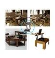 Diseño de muebles mesa mecanismo de elevación hidráulica, la primavera de ayudar a pop-up mecanismo de mesa de café, table top swing hasta el Envío Libre