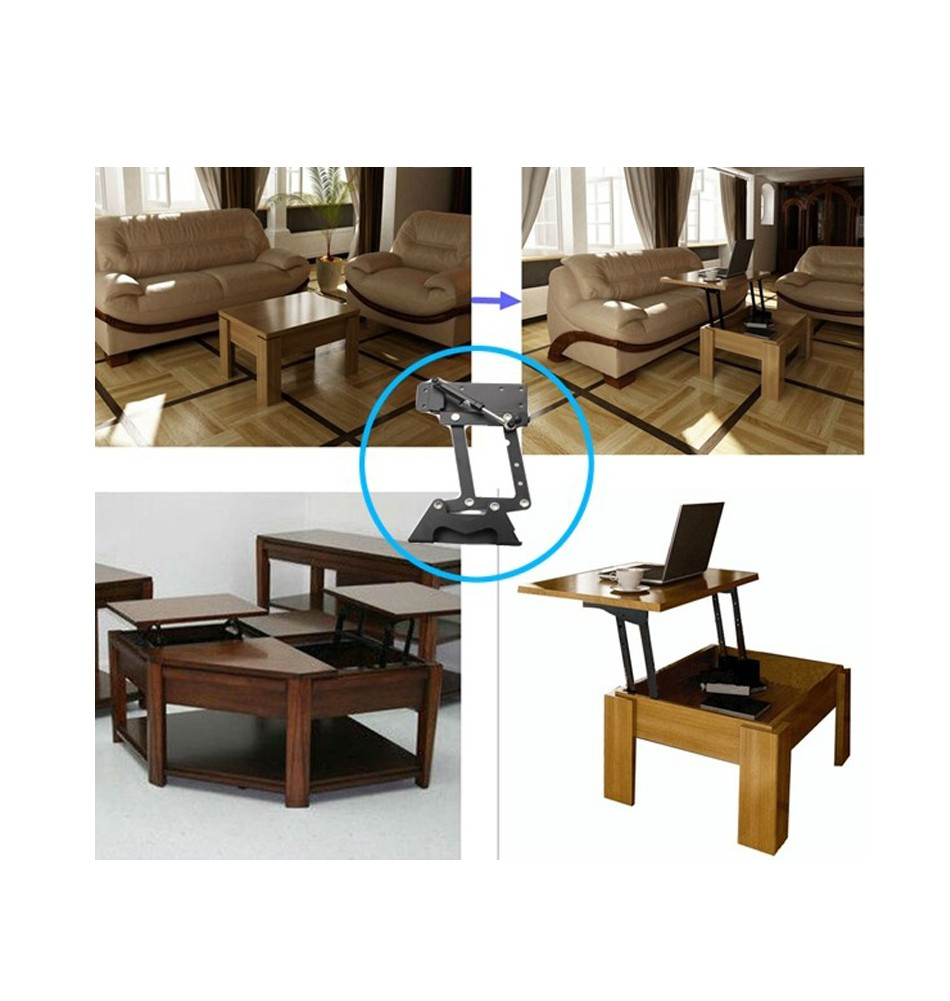 Furniture Design Hydraulic Table Lifting Mechanism Spring Ist Pop Up Coffee Top Swing Free Shipping In Frames From