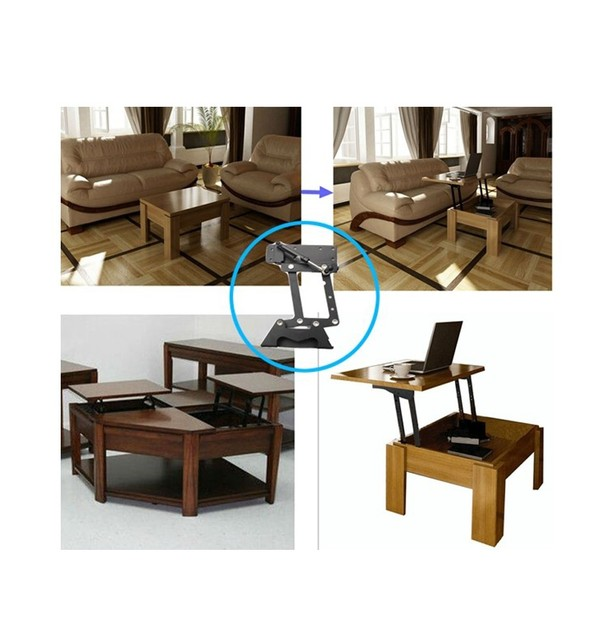 Amazing Furniture Design Hydraulic Table Lifting Mechanism,spring Assist Pop Up  Coffee Table Mechanism, Table