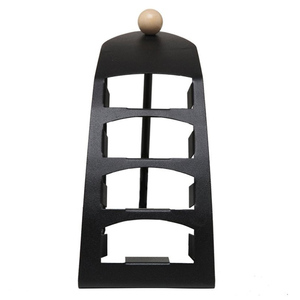 Image 2 - TV Remote Controller stand Holder for SIKAI 4 lattices Metal Organizer Cell Phone Storage box Support