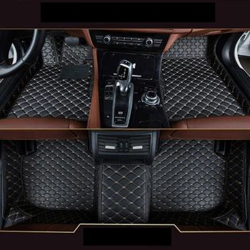 Car Floor Mats For BMW 5 Series G30 G31 G38 530i 540i 520d 530d Custom Floor Mats 2014 - 2017 Leather Carpet Car-Styling