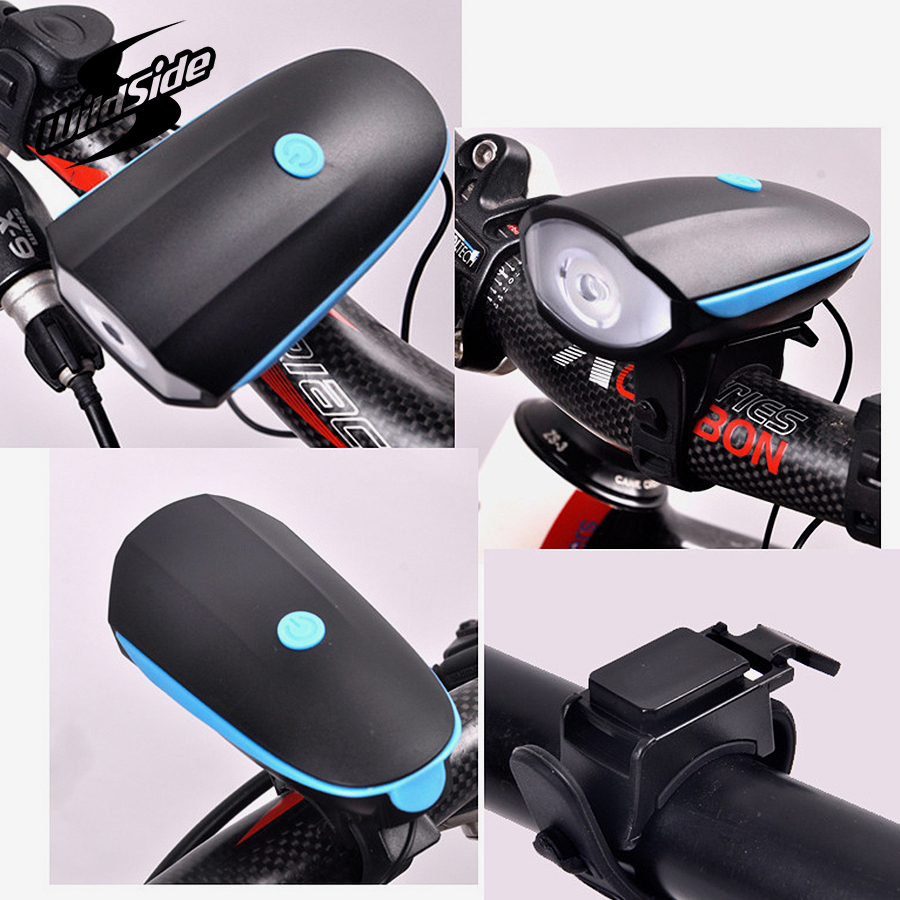 2601057c560 rechargeable bicycle light side bike horn led tail light waterproof cycling  lights flashlight for front bike lights accessories-in Bicycle Light from  Sports ...