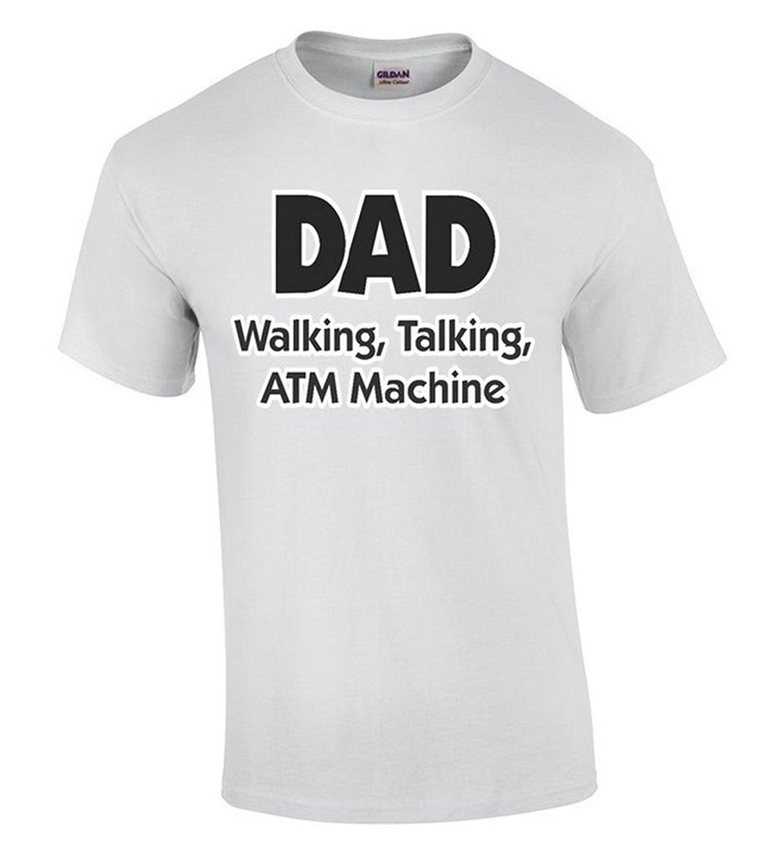 ツ)_/¯Nuevo estilo Company tee Camisas papá caminar hablando máquina ...
