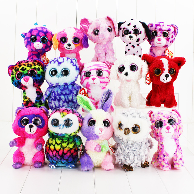 New Arrive Ty Beanie Boos Big Eyes Small Unicorn Plush Toy Kawaii Stuffed  Animals Collection Lovely 8d0ea19d3fe