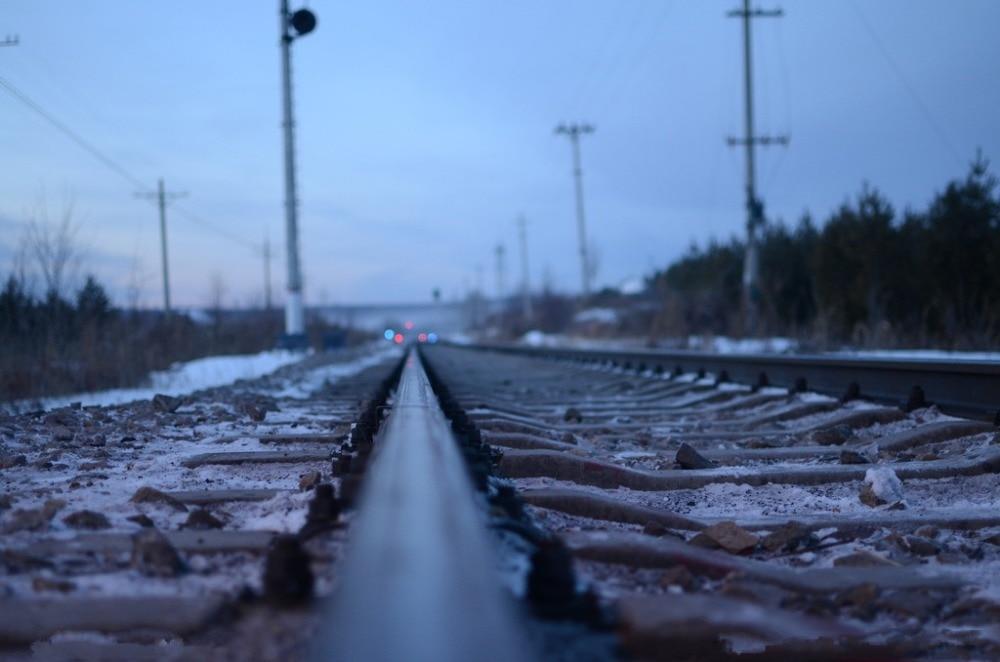 7x5ft Vinyl Custom Railway Theme Photography Backdrops Prop Photo Studio Background NTG-238
