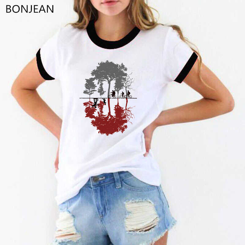 Women Clothes 2019 Stranger Things 3 t shirt Upside Down Funny t shirts female T-Shirt summer graphic tees tumblr t shirt