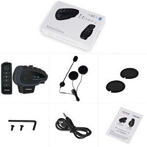 Image 5 - 2pcs Vnetphone V8 오토바이 헬멧 인터폰 NFC 원격 제어 블루투스 인터폰 헤드셋 5 라이더 1200M 전이중 이야기