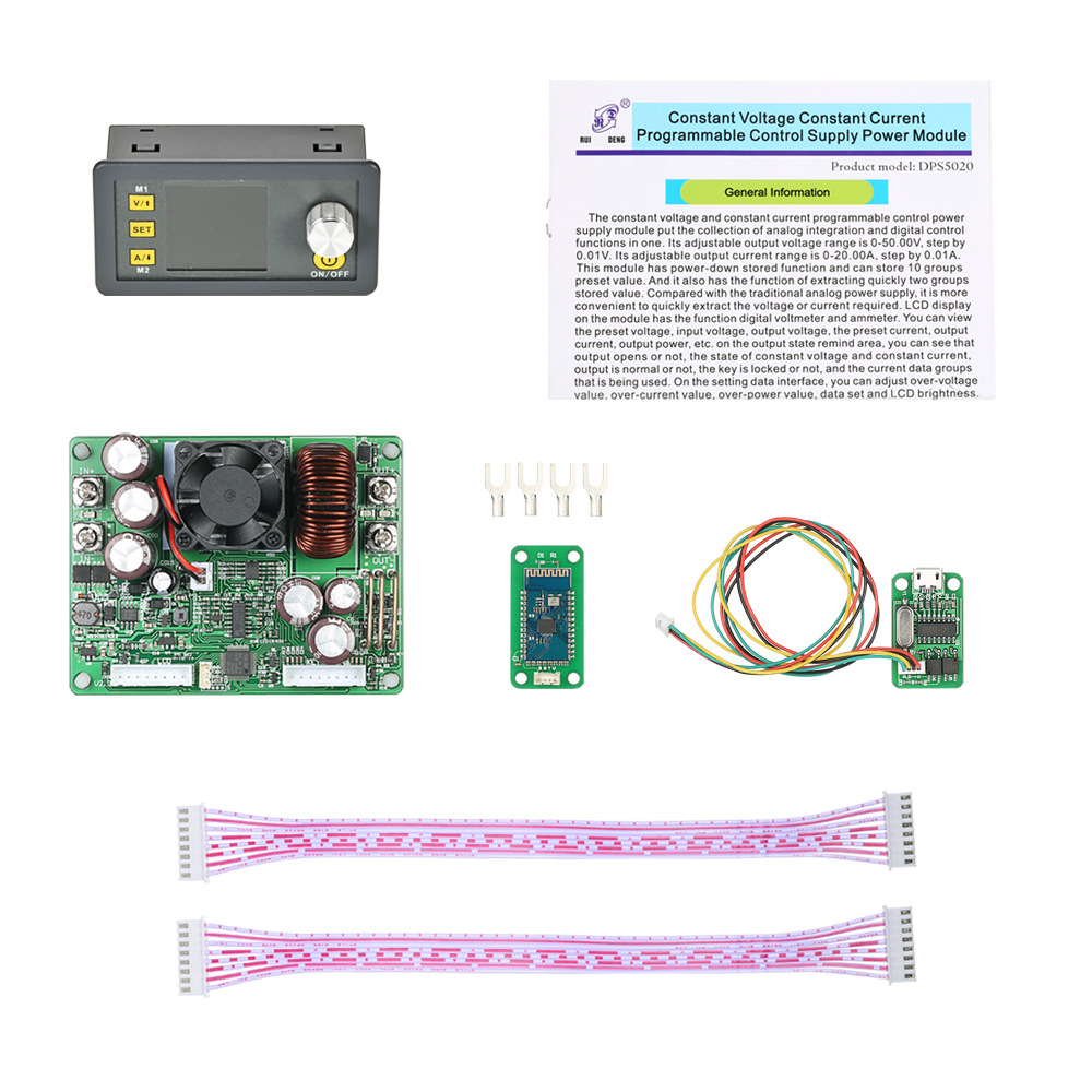 RD DPS5020 Constante Tension abaisseur communication Alimentation numérique buck convertisseur De Tension voltmètre LCD 50 v 20A