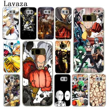 Lavaza One Punch Man Hard Phone Case for Samsung Galaxy S6 S7 Edge S8 S9 Plus S3 S4 S5 Cover Shell