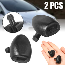 2Pcs/set Car Front Windshield Wiper Washer Jet Nozzle High Quality Replacement For Peugeot 407 206