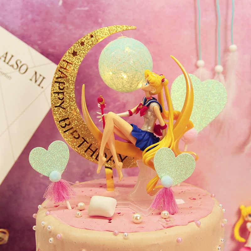 Fabulous Cake Decoration Sailor Moon Decorative Doll Birthday Cake Personalised Birthday Cards Paralily Jamesorg