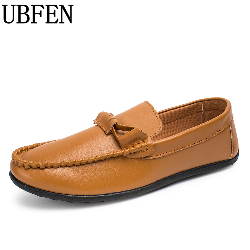 UBFEN cheap big size slip on casual shoes for men loafers spring and autumn male moccasins lazy driving shoes pu men shoes 2017 autumn fashion men pu shoes slip on black shoes casual loafers mens moccasins soft shoes male walking flats pu footwear