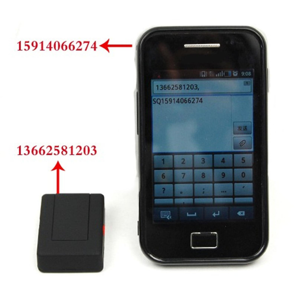 Hot Mini Global Smart Locator Real Time Car Kids Pet Tracker (LBS Position Only)GSM/GPRS Tracking