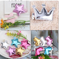 Cute Style Hair Accessories New Design Leather Shiny Star Baby Accessories Girls Heart Crown Hairpins kids accessories Hair Clip