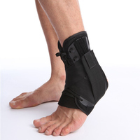 Ankle Brace Support Pad Football Sports Safety Fitness Equipment Weighting Legs Adjustable Foot Bandages Ankle Retainer