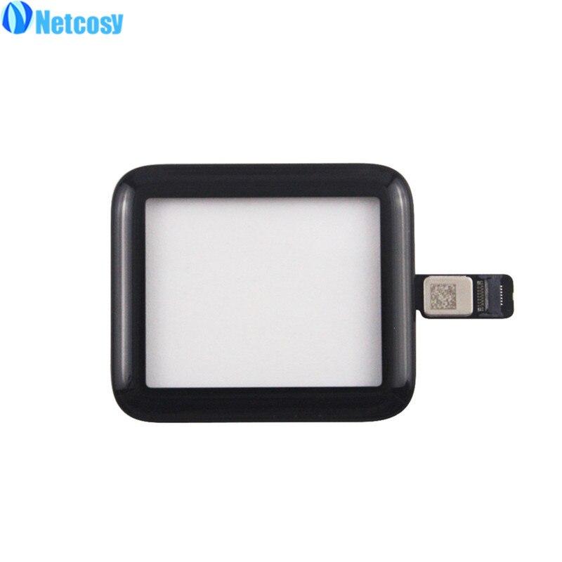 Netcosy 38mm 42mm écran tactile verre numériseur panneau de lentille Pour Apple Montre série 2 Série 3 38mm 42mm Écran Tactile repiar pièces - 2