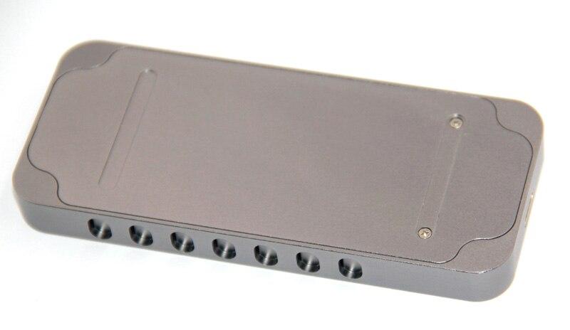 Boîtier en aluminium NVMe PCIE USB3.1 HDD boîtier M.2 à USB SSD disque dur type de boîtier C 3.1 M connecteur de clé boîtier HDD pour ordinateur de bureau