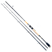 1.8/2.1/2.4m double tips carbon lure fishing rod spinning casting fish rod M/MH power 2 sections lure weight 8 30g