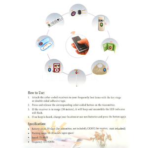 Image 5 - Kebidu 4 في 1 المتقدمة مكتشف المفاتيح اللاسلكي عن بعد مفتاح محدد الهاتف محافظ مكافحة خسر مع وظيفة الشعلة 4 استقبال و 1 قفص الاتهام