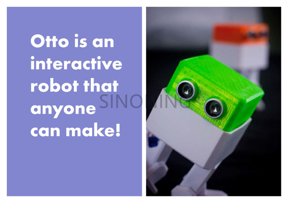 OTTO arduino Nano ROBOT open source Maker obstacle avoidance DIY humanity  playmate 3D path planning and obstacle avoidance for redundant manipulators