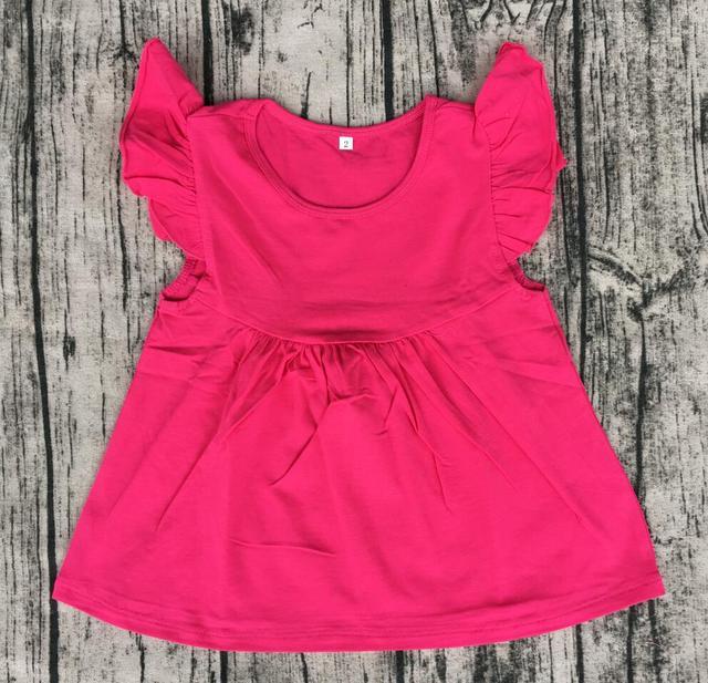 ba9e1c3a82d Summer Boutique High Quality OCM Girls Pearl Tunic Dress Kids Girls Smart  Pearl Dresses Flutter Sleeves