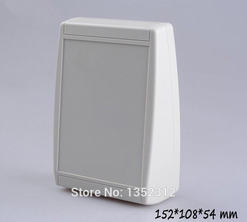 2 pcs/lot 152*108*54mm plastic electronic enclosure boxes wall mount plastic junction box for electronics instrument enclosures