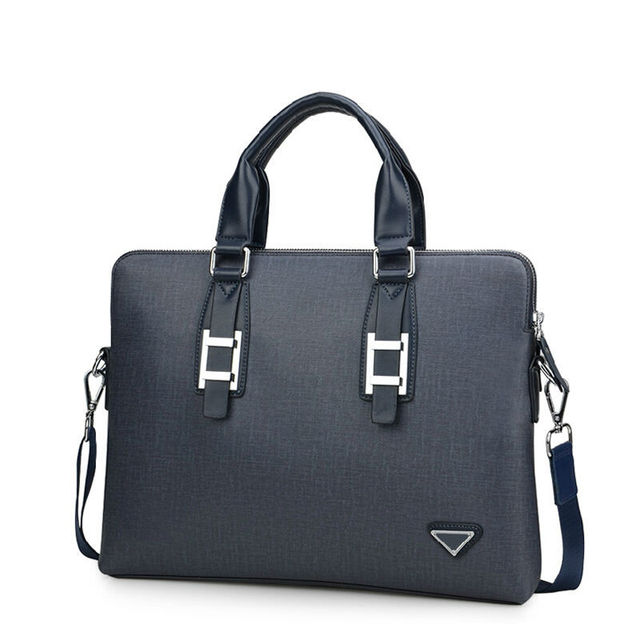 45e33b9b0948 New collection fashion men brand bag leather with purse