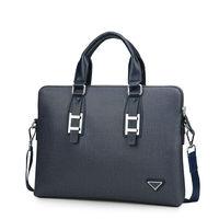 New collection fashion men brand bag leather with purse, men luxury business bags trendiest design, men laptop handbag and purse