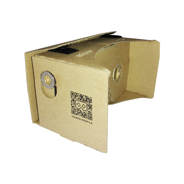 "Google VR 3D Glasses Virtual Reality DIY Google Cardboard Virtual Reality VR Mobile Phone 3D Video Glasses for 5""~6"" Screen"