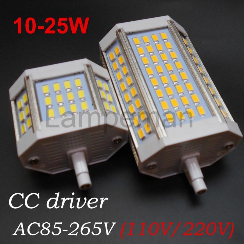 Aliexpress Buy r7s led 220v 110V 10W 18w 20w 25W 30W 64 led