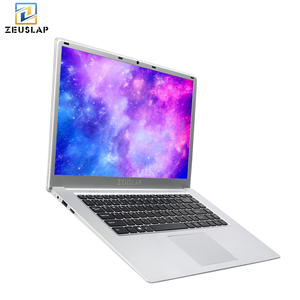 ZEUSLAP 15.6 Inch 1920x1080p Full Hd 6gb Ram 128gb Ssd Win10 Wifi Bluetooth Cheap Ultrathin Laptop Notebook Pc Computer