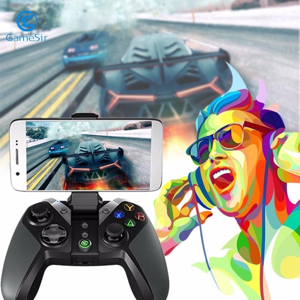 GameSir G4s 2.4 Ghz Wireless Controller Bluetooth 4.0 Gamepad 800 mAh Controlador Do Jogo para Android iOS PC jogos