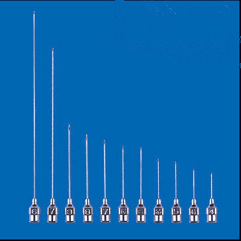 5pcs 2.0mm 14G 2.0x60/80/100/120/150/200/250/300mm Stainless Steel Syringe Needle Dispensing Needles