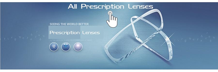 All prescription lenses