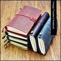 Ноутбук из натуральной кожи Crazy Horse Fromthenon  винтажный деловой планировщик  стандартный паспорт  дневник  записная книжка  канцелярские принад...