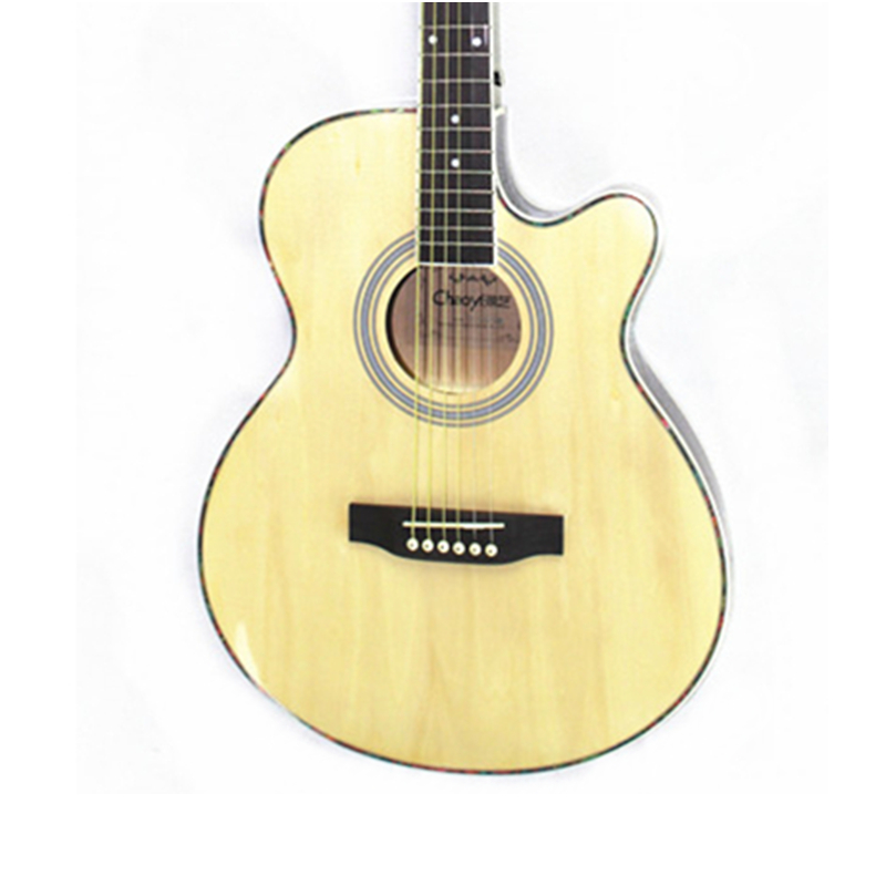 40 Inch Acoustic Folk 6-String Guitar For Beginners Students Gift Basswood Folk Guitar Ultra Thin Bucket Body With EQ40 Inch Acoustic Folk 6-String Guitar For Beginners Students Gift Basswood Folk Guitar Ultra Thin Bucket Body With EQ