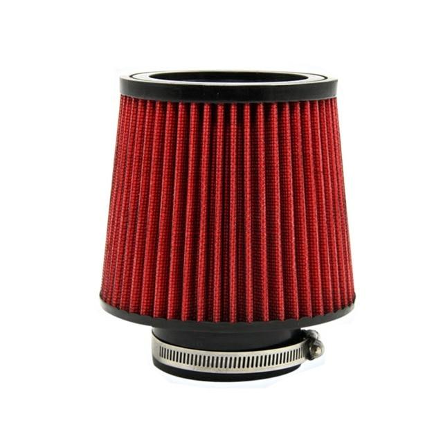 3 Inch 76mm Altura Cone de Alto Fluxo Filtro de Ar Filtro De Entrada De Ar Do Carro filtros Automotivos Desempenho Entrada de Ar Frio modificação