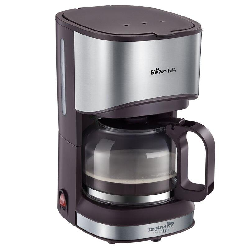 Automatic Espresso Coffee Machine KFJ-A07V1 Coffee Maker American Drip Small Home Automatic Ground Coffee small american drip coffee machine pot with full automatic drip coffee maker