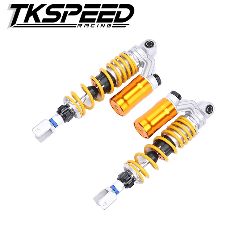 1XPAIR 320mm/12.5'' Motorcycle modified Adjust damping Nitrogen Shock Absorbers Rear Suspension For Scooter BWS all motorcycle electric motor speed modification battle calf fight three generation bws damping adjustable shock dj1 horse