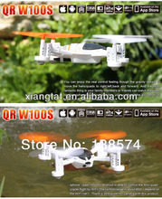 Versi Upgrade WALKERA QR W100S WIFI FPV RC Quadcopter drone UFO dengan kamera helikopter RTF BNF pengiriman Drop