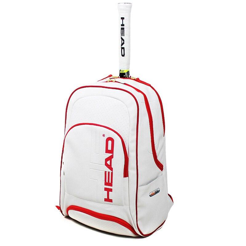 High Quality PU Tennis Racket Bag Head Racquet Sports Bagpack With Shoes Bag Badminton Backpack Christmas