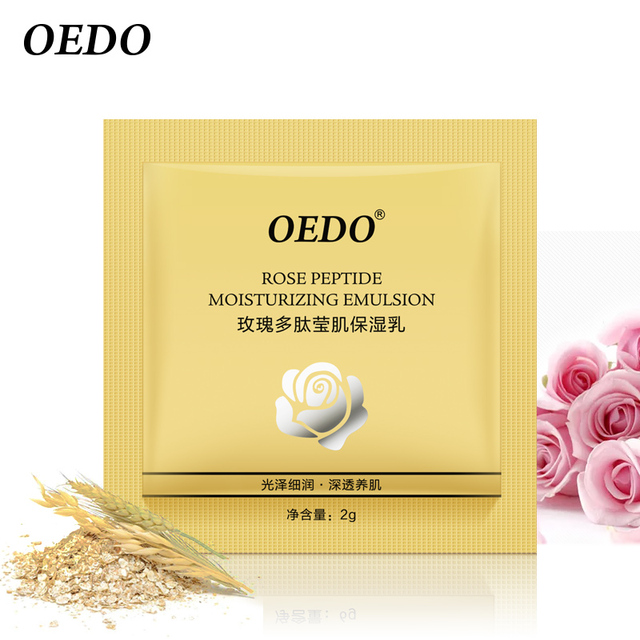 Rose Peptide Moisturizing Emulsion Skin Care Whitening Face Care Anti-Aging Anti Wrinkle Cream Oil-control Repair Water Lock