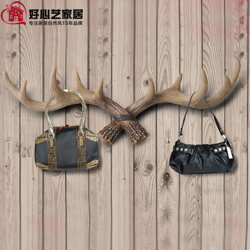 high quality resin antler design clothes rack coat hanger clothes tree wall decor