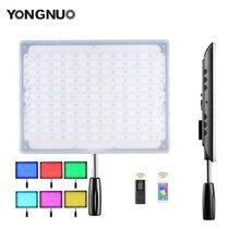 YONGNUO YN600 LED RGB Video/Foto Luce con Temperatura di Colore Regolabile 3200 K 5500 K per le Fotocamere REFLEX Wireless Bluetooth Remote