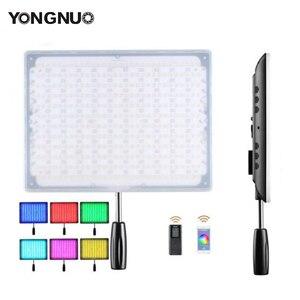 Image 1 - YONGNUO YN600 LED RGB Video/Foto Luce con Temperatura di Colore Regolabile 3200 K 5500 K per le Fotocamere REFLEX Wireless Bluetooth Remote