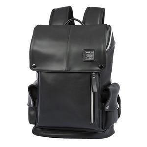 Image 5 - กระเป๋าเป้สะพายหลัง PU หนัง USB ชาร์จแล็ปท็อปกระเป๋าชายกันน้ำ Travel กระเป๋าเป้สะพายหลังแฟชั่นสบายๆคุณภาพกระเป๋า